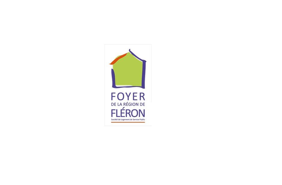Foyer Fléron Logo en couleur