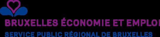 Logo Bruxelles économie et emploi en couleur