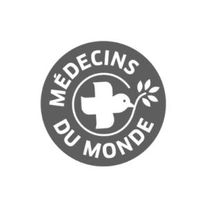 Médecins du monde logo gris
