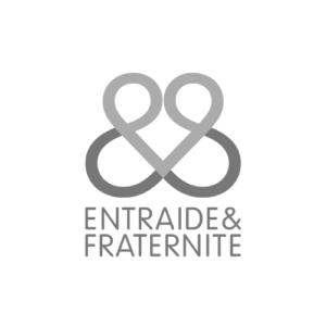 Logo gris entraide et fraternité