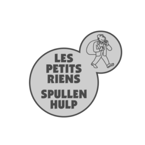 Les petits riens Logo gris