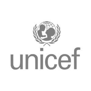 UNICEF logo gris