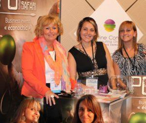 Martine Constant Consulting Group au salon popup Safari organisé par la CCILVN